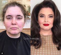 Diy beauty makeover makeup make up 61 Super ideas Power Of Makeup, Lots Of Makeup, Makeup Tips, Makeup Tutorials, Makeup Trends, Makeup Products, Diy Beauty, Beauty Makeup, Beauty Hacks