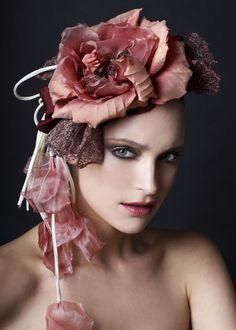 couture Silk flower. Berry Rutjes