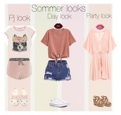 """""""Sommer looks"""" by lunita2 ❤ liked on Polyvore featuring Topshop, Gucci, Forever 21, Converse, Lime Crime and Jennifer Lopez"""