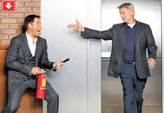 Mark Harmon and Michael Weatherly Preview an NCIS Flashback