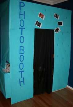 Build an Easy Party Photo Booth. Alright this is so cool though. I kinda really . Build an Easy Pa 13th Birthday Parties, Slumber Parties, 16th Birthday, Birthday Ideas, Sleepover Party, Birthday Bash, Sweet 15, Sweet Sixteen Parties, Glow Party