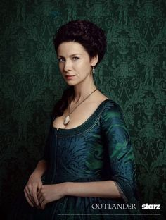 Caitriona Balfe as Claire Fraser in new promo photos of Outlander Season Two on Starz