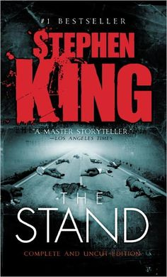 Stephen King - The Stand I couldn't say what my favourite book ever is, but this would be a contender.