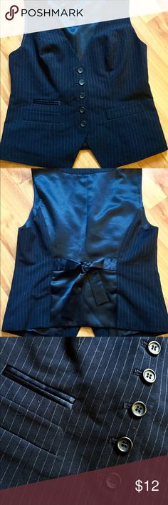 The Limited Navy Vest The Limited Navy Blue Vest. Excellent Condition! The Limited Jackets & Coats Vests