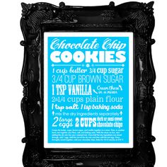 Great way to remember favorite recipe, with printable from Projectville