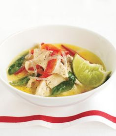 Thai Green Chicken Curry - my most fave. recipe of all time!  I love this meal.