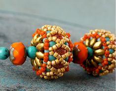 Blog :: Tutorials & Patterns :: Czech Glass MiniDuo and SuperDuo Beads - HARLEQUIN Beaded Bead Free Tutorial (PDF)