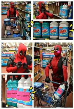Deadpool humor, Ajax, Francis