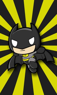 Chibi Batman by jerkysans.deviantart.com on @DeviantArt