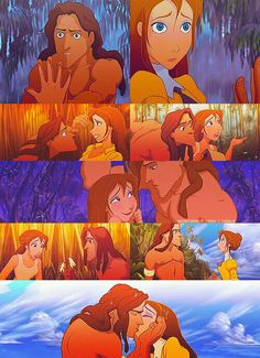 Disney Challenge : Tarzan and Jane they have my most favorite romantic moments mostly cause they were the most awkward lol