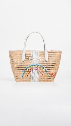 Anya Hindmarch Neeson Basket Tote | SHOPBOP SAVE UP TO 25% Use Code: EVENT19 Handbag Stores, Anya Hindmarch, China Fashion, Slingback Sandal, Straw Bag, Dust Bag, Vibrant Colors, Basket, Tote Bag