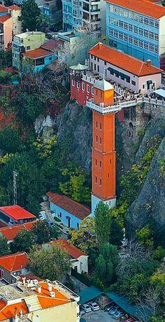 Asansor (Elevator), a photo from Izmir, Aegean Turkey – 81 İl Türkiye Places To Travel, Places To Go, Turkey Destinations, Hotels In Turkey, Amazing Buildings, Turkey Travel, Beautiful Places To Visit, Ankara, Cities