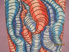 "4th Grade Values Lesson: The Modern Art Smock: 4th Grade Line Design/Value ""Tubes"" Lesson"