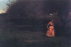 Croquet Players, ca. 1865. Winslow Homer. | In the Swan's Shadow