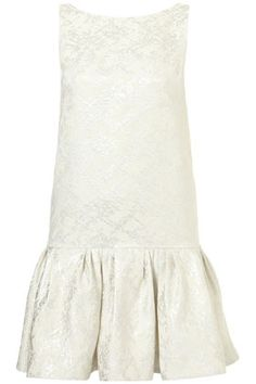 **LIMITED EDITION Jacquard V Back Dress ( I think anyone could make this )