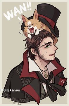 AC syndicate Jacob Frye and his little pal http://sinzui.tumblr.com/