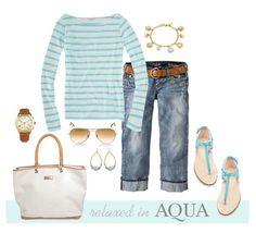 Hamptons Style in Aqua