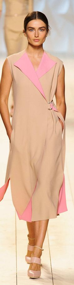 Nina Ricci Collection  Spring  2015 women fashion outfit clothing style apparel @roressclothes closet ideas