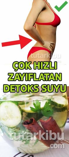 ÇOK HIZLI ZAYIFLATAN DETOKS SUYU TARİFİ Workout Diet Plan, Weight Loss Detox, Fast Weight Loss, Fitness Diet, Health Fitness, Health Cleanse, Herbalism, Product Description, Cellulite Scrub