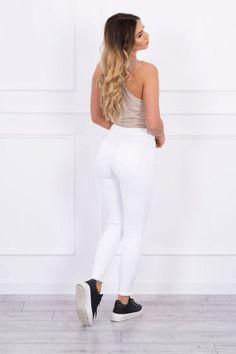 Blugi dama - 89 Lei -    Compozitie:  95% bumbac ,  5% lycra. -   Comanda acum!  #divashopromania #divashop #hainefemei #blugi  #fashion #fashionista #fashionable #fashionaddict #styleoftheday #styleblogger #stylish #style #instafashion #lifestyle #loveit #summer #americanstyle #ootd #ootdmagazine #outfit #trendy #trends #womensfashion #streetstyle #streetwear #streetfashion #shopping #outfitoftheday #outfitinspiration #ootdshare #trendalert #boutique #haine #romania #buc Blogger Style, Fashion Addict, Outfit Of The Day, White Jeans, Diva, Street Wear, Street Style, Boutique, Stylish