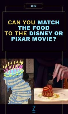 Can You Match the Food to the Disney or Pixar Movie?