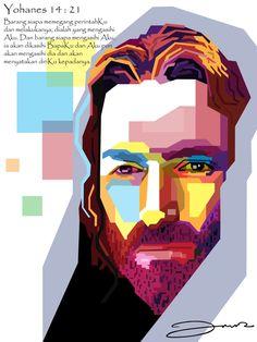 Jesus in WPAP by