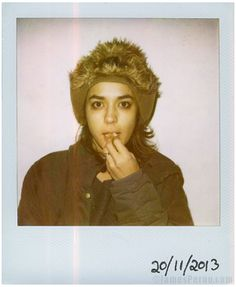 Jenny Lee Lindberg, Warpaint. Polaroids by James Perou 20/11/13 (Folk That Make Music)   (Source: jamesperou.com via http://warpaintwarpaint.tumblr.com)