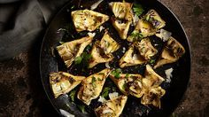 Skillet Charred Artichoke Hearts | Recipe | The Fresh Market - Ingredients and step-by-step recipe for Skillet Charred Artichoke Hearts. Find more gourmet recipes and meal ideas at The Fresh Market today!