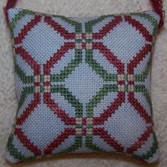 Cross Stitch Borders, Cross Stitch Designs, Christmas Cross, Xmas, Needlepoint, Ornament, Bands, Throw Pillows, Crochet