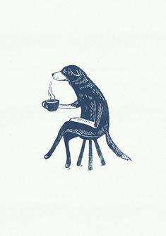 An Illustration for The Vets cafe branding. Arte Indie, Posca Art, Grafik Design, Art Inspo, Art Drawings, Art Photography, Character Design, Artsy, Sketches