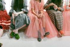 A look at the designer's spring/summer collection at London Fashion Week.