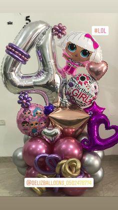 Balloon Design For Birthday, Birthday Balloon Decorations, Happy Birthday Balloons, Paper Decorations, Balloon Tassel, Balloon Gift, Balloon Garland, Balloons And More, Large Balloons