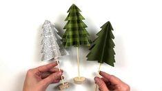 Trim the Tree 3D Decorative Trees