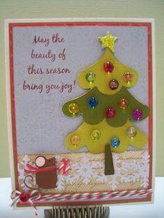 Little Scrap Pieces, Christmas card