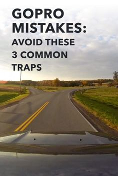You gotta start somewhere! GoPro beginners mistakes are no different than any other: you live and you learn. In this post, I help rescue you from 3 common traps that I see GoPro beginners get caught in all too often. The best part is: they're easy to recover from!