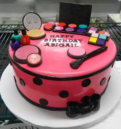 Make-Up Birthday Cake!