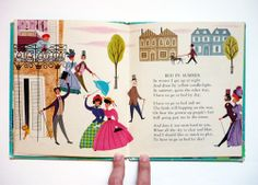 My Vintage Avenue !!! 50's and 60's illustrations !!!: A Child's Garden Of Verses Illustrated by Ruth Ruhman