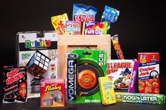 Old School Toys And Candy Crate - Interwebs.