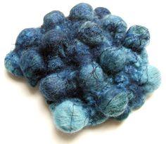 How shibori felt is made | Wool Felting