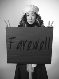 Farewell Sandra Oh. I'll miss Cristina Yang more than words can express. <3 Truly an amazing character played by an incredible actress.