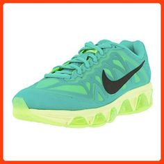 4b791a1fc1d2 NIKE WOMENS AIR MAX TAILWIND 7 RUNNING SHOES LIGHT RETRO BLACK LIME  683635-400 (