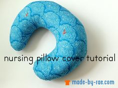 """<a href=""""http://www.made-by-rae.com/2014/03/sewing-for-baby-nursing-pillow-cover-tutorial/"""" rel=""""nofollow"""">blogged</a>"""