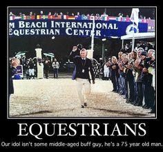George Morris is every Equestrians Idol!