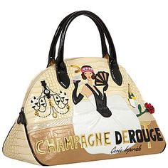 Женская сумка Braccialini 8361 croc beige black