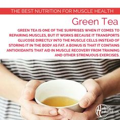 Another reason to fill your teapot with Green Tea.