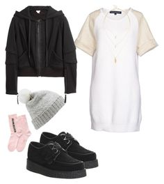 """Senza titolo #555"" by bluveraa ❤ liked on Polyvore featuring French Connection, Forever New, Underground, Sole Society, Helmut Lang, N°21, women's clothing, women's fashion, women and female"