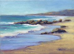 Konnie Kim Fine Art: Low Tide at Crystal Cove 2