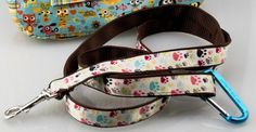 How to Sew a Custom Pet Leash! - DIY Dog Leash / Lead. So many options.  Embroider pet's name. Totally Stitchin