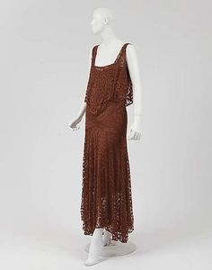 Evening Dress  Coco Chanel, 1928-1929  The Metropolitan Museum of Art