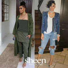 Laura Govan (@lauramgovan) has been slaying style all week long with looks from @shopinreallife! Which look is your fav?